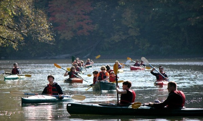 Toronto Adventures - Multiple Locations: Standup-Paddleboard, Kayak, or Canoe Lesson and Rental from Toronto Adventures  (Half Off). Five Options Available.