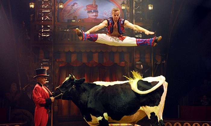 "Big Apple Circus - Dulles Town Center: Big Apple Circus's ""Luminocity"" with Option for Snacks at Dulles Town Center on September 26–October 5 (Up to 41% Off)"
