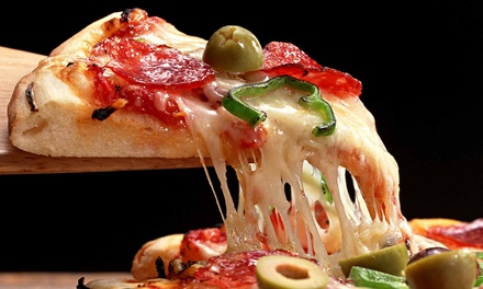$14.75 for Lunchtime Signature Pizza at Pete's Restaurant and Brewhouse and Original Pete's ($24.49 Value)