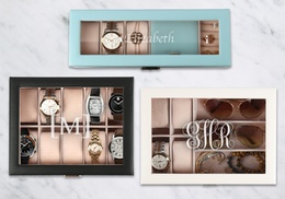 Personalized Jewelry/Watch Cases