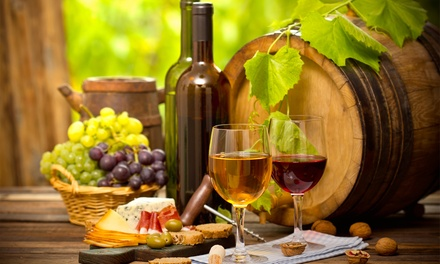 Date-Night Package or a Party with Wine and Food at Therapy Wine Bar (Up to 72% Off). Three Options Available.