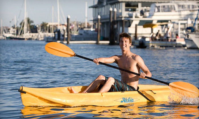 Oceanside Boat Rentals - Townsite: Kayak, Standup-Paddleboard, or Electric-Boat Rental from Oceanside Boat Rentals (Up to 64% Off)