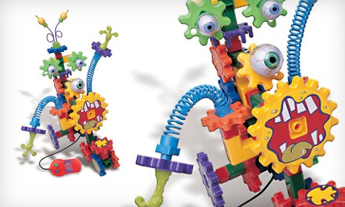 Learning Resources Kids' Building Set: $24 for a Learning Resources Gears! Gears! Gears! Crazy Creatures Building Set ($49.99 List Price)