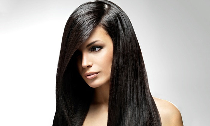 Straightening Amp Haircut Eleven 11 Hair Studio Groupon