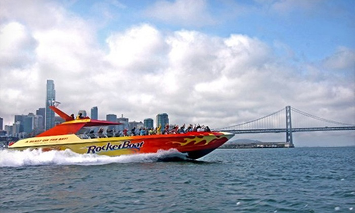 Blue & Gold Fleet - Fisherman's Wharf: 30-Minute RocketBoat Ride for Two from Blue & Gold Fleet (Half Off)
