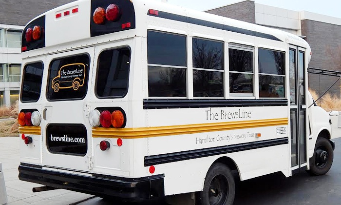 The BrewsLine - Indianapolis: Brewery Bus Tour for One, Two, or Up to 12 People from The BrewsLine (Up to 45% Off)