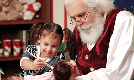 Photos with Santa at Just Shoot Me Photography (Up to 66% Off). Three Options Available.