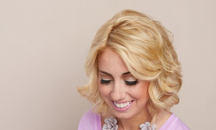 Haircuts and Color from Amanda Bohanan at Angie's Shear Design (Up to 56% Off). Three Options Available.