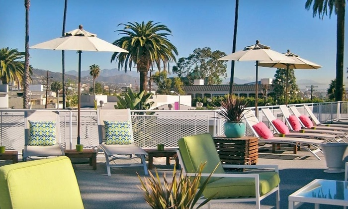 null - Los Angeles: Stay with Welcome Package and Dining Credit at Hotel Beverly Terrace in Beverly Hills, CA