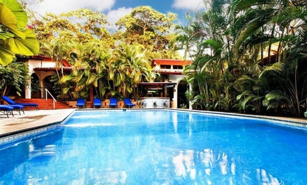 groupon daily deal - 3-, 4-, or 5-Night Stay for Two in a Single or Double Garden Room at Best Western Villas Lirio in Costa Rica