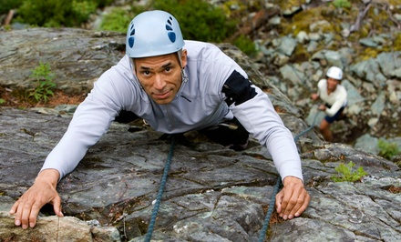 Four-Hour Rock-Climbing Tour for Two from New River Climbing School (Up to 50% Off). Two Options Available.