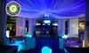 Sala eventi con DJ e catering