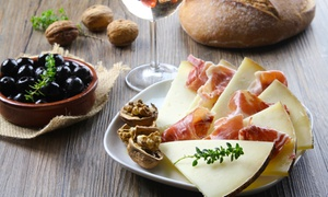 Sergio's Steak and Seafood: $37 for Wine Class with Tasting and Italian Meal at Sergio's Steak and Seafood ($118 Value)