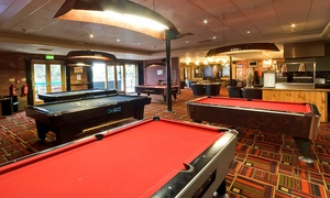 Cue Gardens: British Fare For Two (£9) With One Hour of Pool or Snooker (£12) at Cue Gardens