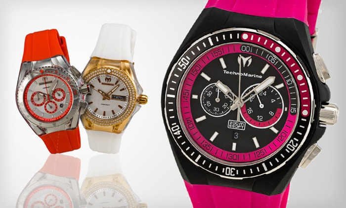TechnoMarine Watches: TechnoMarine Women's or Unisex Watches (Up to 71% Off). Eight Options Available. Free Shipping and Free Returns.