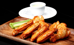 The hub sports bar & grill: Pub Food for Dine-In or Carryout at The Hub Sports Bar and Grill (40% Off)