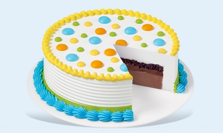 Ice Cream or an Eight-Inch Blizzard Cake or Round Cake at Dairy Queen (Up to 44% Off)