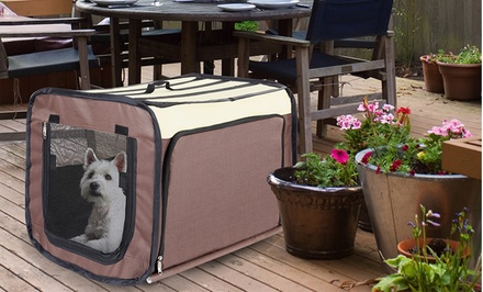 Expandable Portable Pet Crate