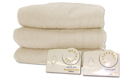 Comfort Knit Heated Blanket. Multiple Options from $39.99 to $89.99. Free Returns.
