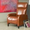 Trenton Bonded-Leather Recliner