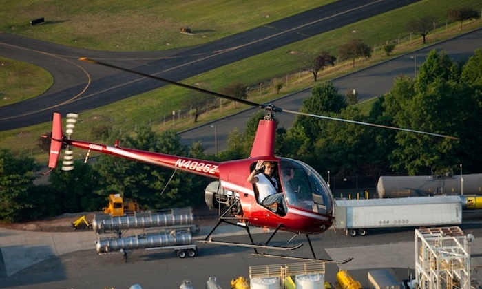 Core Helicopters - Linden Airport: Private Helicopter Lesson for One or Two from Core Helicopters (Up to 45% Off)