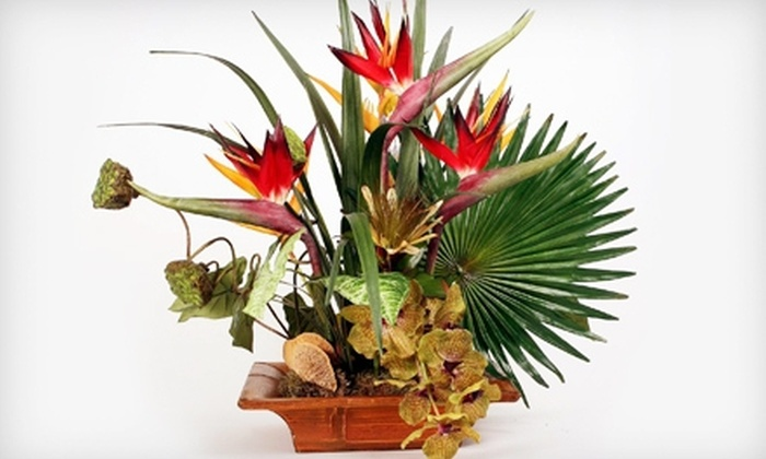 Silk Jungle - Remington Reserve: $49 for $150 Worth of Silk Floral Arrangements, Plants, and Accessories at Silk Jungle