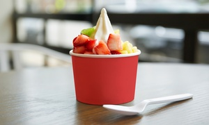 Fruitberry Frozen Yogurt & Pizza: Frozen Yogurt or Personal Pizzas at Fruitberry Frozen Yogurt & i-Pizza (Up to 40% Off). Four Options Available.