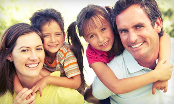 Four Peaks Family Dentistry - Downtown Scottsdale: Pediatric Exam with Cleaning or Adult Exam with Teeth Whitening at Four Peaks Family Dentistry (Up to 94 % Off)