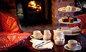 Mercure Letchworth Hall Hotel - Non-Accommodation: Traditional Afternoon Tea for Two or Four at Mercure Letchworth Hall Hotel (46% Off)