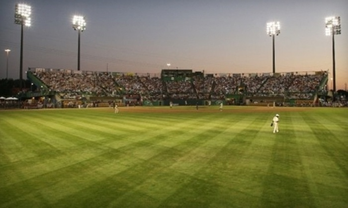 St. Paul Saints - St. Anthony: Two St. Paul Saints Baseball Games at Midway Stadium Plus Team Cap (Up to 52% Off). Nine Options Available.