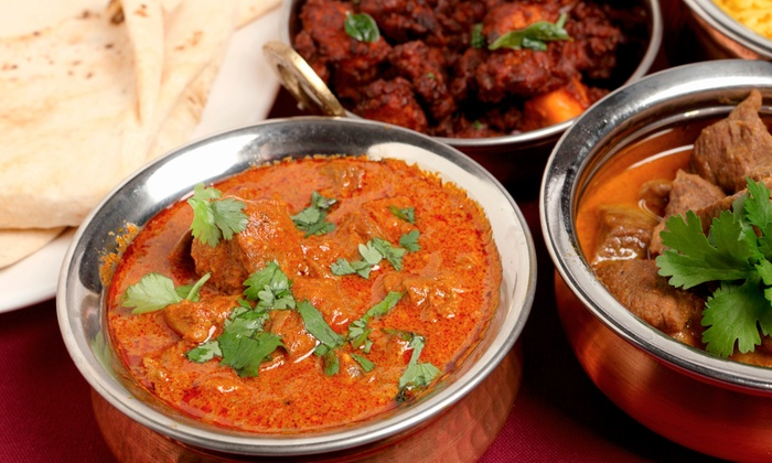 Spicy 6 - West End: Indian Meal for Two or Four with Appetizers, Naan, and Vegetarian and Meat Entrees at Spicy 6 (Up to 48% Off)