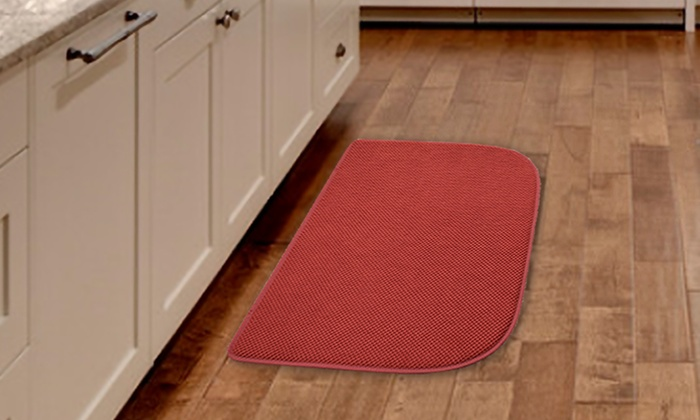 Memory-Foam Kitchen Mats | Groupon Goods