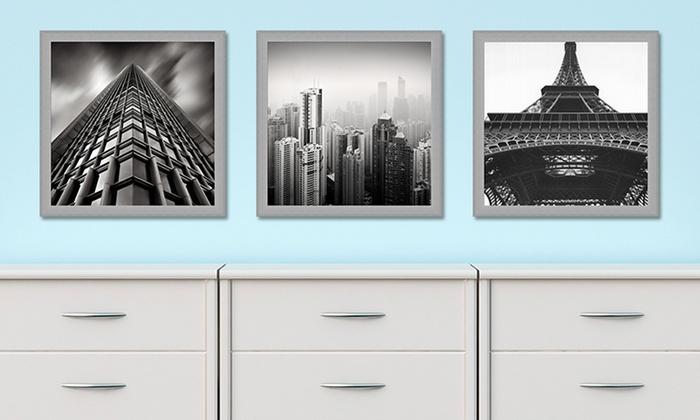 """20""""x20"""" Framed Black-and-White Photo Print: 20""""x20"""" Framed Black-and-White Photo Print. Multiple Prints Available. Free Returns."""