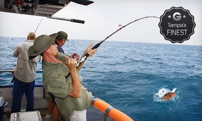 Hubbard's Marina - Madeira Beach: $25 for a Half-Day Fishing Trip for an Adult from Hubbard's Marina ($50 Value)