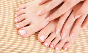 Megan's Loft...a hair and nail studio: One Basic or Gel Manicure with a Pedicure at Megan's Loft…a hair and nail studio in Monroeville (Up to 56% Off)