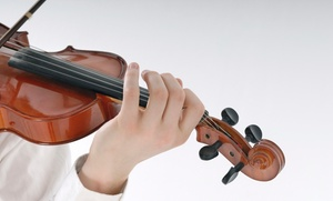 Softspoken Music Notes: Two or Four 30- or 60-Minute Private Violin or Viola Lessons at Softspoken Music Notes (Up to 70% Off)