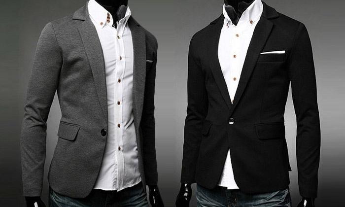 Veste Shopping Blazer Veste Blazer Homme Groupon rFrwgq