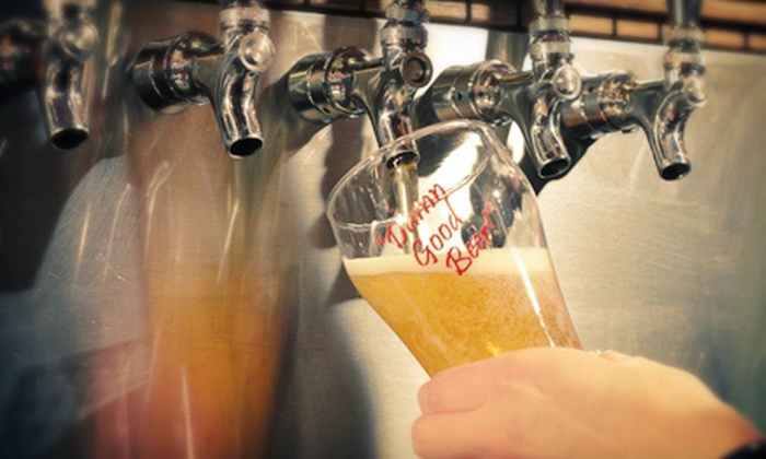 Minhas Craft Brewery - Monroe: Minhas Craft Brewery Tour for Two or Four in Monroe (Half Off)