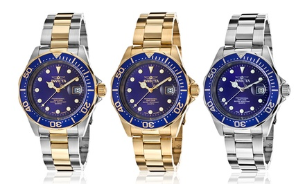 Invicta Men's Pro Diver Swiss Watches with Optional 18-Karat Gold Plating. Multiple Styles Available. Free Returns.