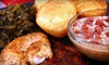 Hobert's Soul Food and Canteen - South Poly: Soul Food at Hobert's Soul Food and Canteen (Up to 53% Off). Two Options Available.