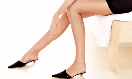 Six Laser Hair-Removal Sessions on a Small, Medium, Large, or Extra-Large Area (Up to 83% Off)
