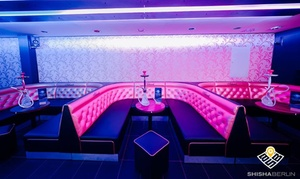 Ashanti Lounge: Premium Shisha inkl. Cocktail, Nachos oder Shake für 2, 4 oder 6 Personen in der Ashanti Lounge (bis zu 43% sparen*)