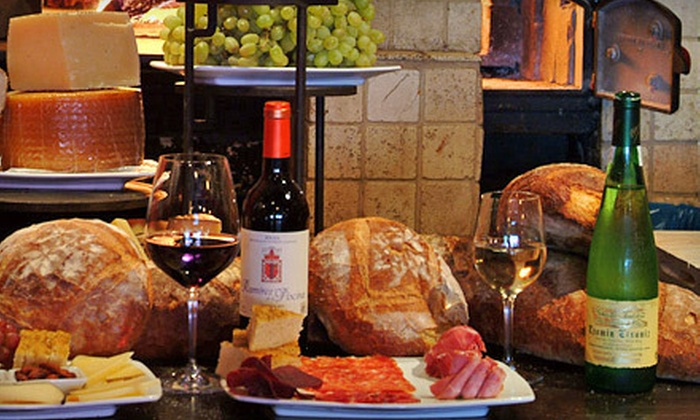 Winebar - La Cerveceria: $30 for One Bottle of Wine, One Shared Plate, and Dessert at Winebar (Up to $71 Value)