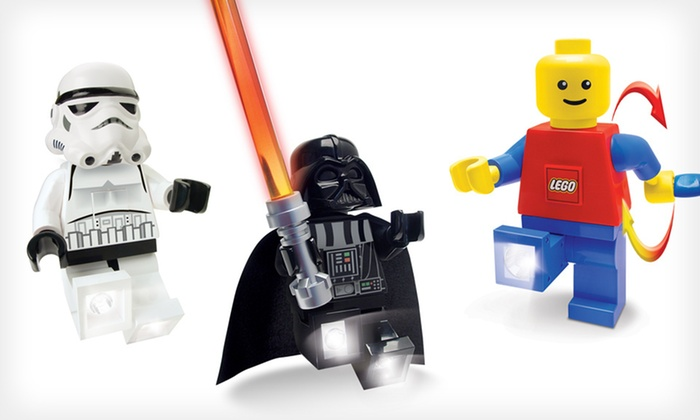 Classic or Star Wars Lego LED Torch: Classic, Stormtrooper, or Darth Vader LED Lego Torch (Up to 27% Off). Free Shipping and Free Returns.