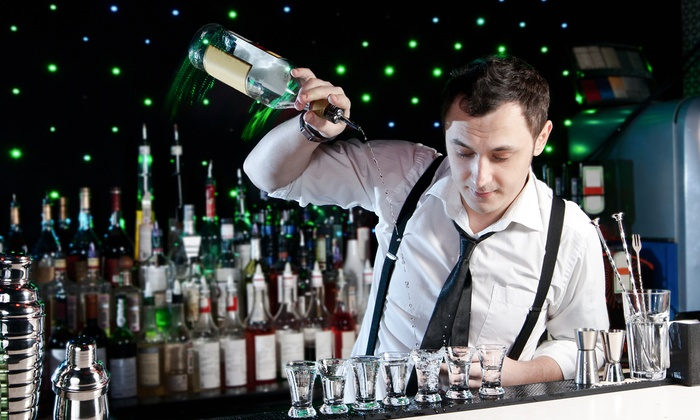 "1-800-BARTEND - Multiple Locations: $99 for 16-Hour Three Day Bartending Certificate Course & Evening of ""Guest Bartending"" at 1-800-BARTEND ($345 Value)"