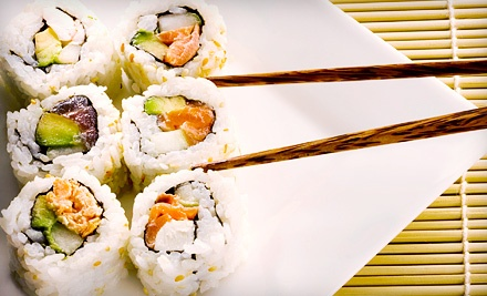 Asian Food for Dinner on Sunday–Thursday or Friday–Saturday at Mr. Sushi (Half Off)