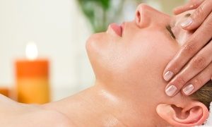 Skin Station: One-Hour Aromatherapy Massage, One-Hour Facial with Eye Treatment, or Both at Skin Station (Up to 60% Off)