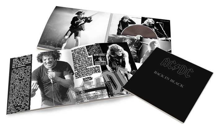 AC/DC Back in Black Collector's Edition CD: AC/DC Back in Black Collector's Edition CD