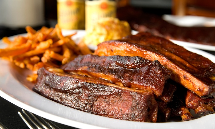 Sandra Dee's BBQ - Mansion Flats: Southern Comfort Food for Dine-In or Catering Pickup at Sandra Dee's BBQ (40% Off)
