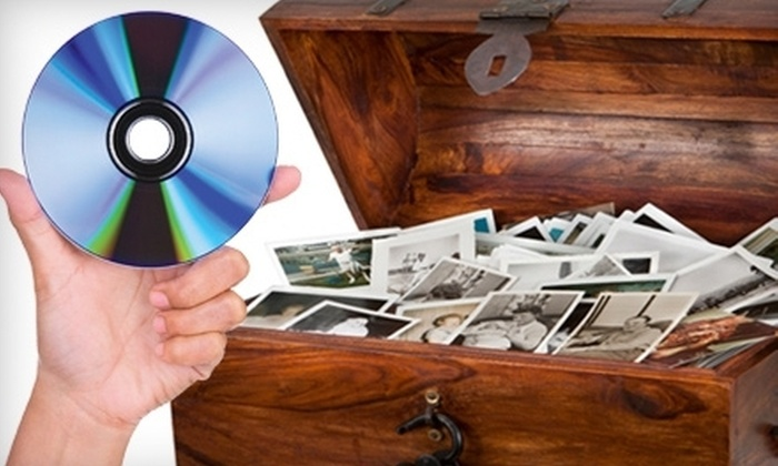 iPreservedit - Multiple Locations: $69 for Photo-to-DVD Conversion for Up to 500 Photos from iPreservedit (Up to $300 Value)